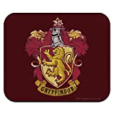 Harry Potter Gryffindor Painted Crest Low Profile Thin Mouse Pad Mousepad