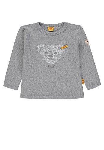 Steiff Steiff Unisex Baby 1/1 Arm T-Shirt, Grau (Softgrey Melange|Gray 8200), 86