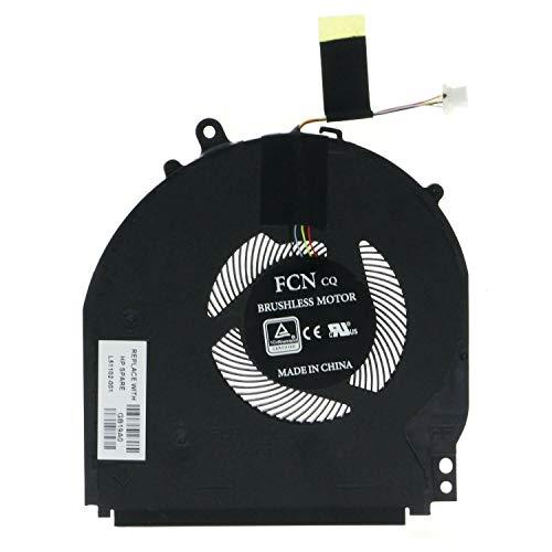 Replacement CPU Cooling Fan Compatible with HP Pavilion X360 14-dh 14m-dh series, 14-dh1036tx 14-dh1036tx 14-dh1035tx 14-dh1037tx 14m-dh1003dx Series Laptop P/N: TPN-W139 L51102-001