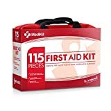 MediKit Deluxe First Aid Kit. Suitable For Home, Office, Sports, Travel & Camping