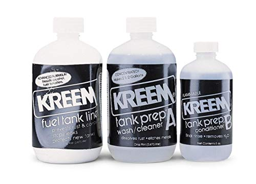 Kreem Products 19-103 Black Fuel Tank Liner Combo Pack, 3 Pack