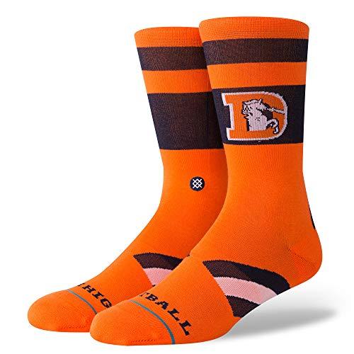 Stance Broncos Mile High Chaussettes Homme, Orange, L