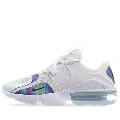 Nike Air MAX Infinity Hombre Running Trainers BQ3999 Sneakers Zapatos (UK 9 US 10 EU 44, Summit White Black 101)
