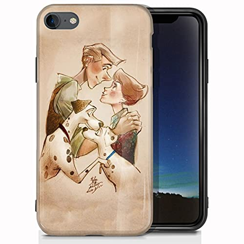 vgfshcw Funda iPhone 6 Plus/Funda iPhone 6S Plus Glossy Bright Soft Slim Shockproof TPU Case Hunt er × Hunter Cases_002