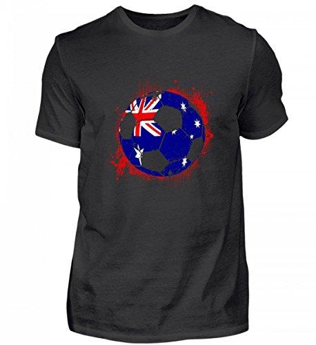 Hochwertiges Herren Shirt - Australien Fußball WM Trikot - Australien/Fußball Trikot/Nationalmannschaft/Geschenk