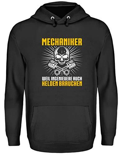 Chorchester Für Mechaniker und Ingenieuere - Unisex Kapuzenpullover Hoodie -M-Jet Schwarz