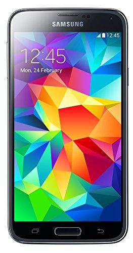 Samsung Galaxy S5 Smartphone (12,9 cm (5.1 Zoll) Full-HD Touhscreen, 16 GB, Dual Sim, LTE, Android) schwarz