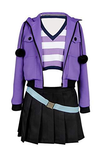 Ya-cos Fate/Grand Order FGO Apocrypha Fa Rider Astolfo Cosplay Costume Casual Suit Coat,Purple,Female Large