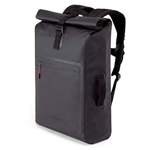 A-LAB | Model D | Waterproof Bicycle & Messenger Backpack | Medium 26L | Black