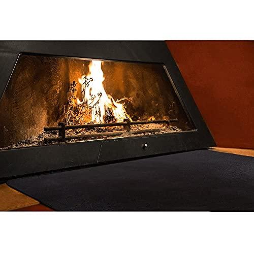 Texfire - Mehrschichtige feuerfeste Matte – Bodenschutz für Ofen, Kamin und Grill (150x100cm).