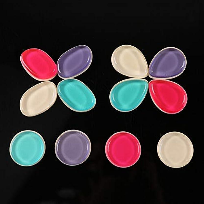 ベンチブームぶどうDOMO シリコンパフ 透明 清潔しやすい メイクスポンジ ゲルパフ ゼリーパフ化粧品 ファンデーション メークアップツール