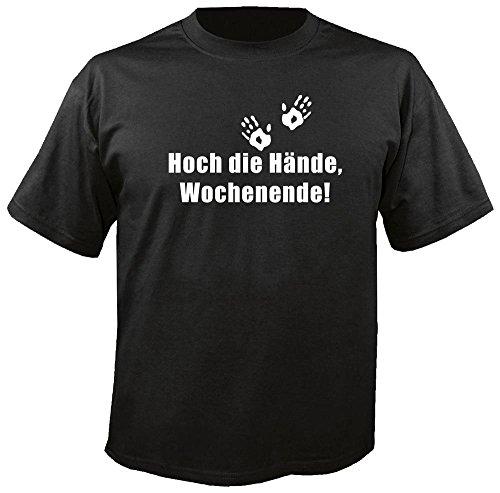 Hoch die Hände, Wochenende - Fun - T-Shirt Größe XL