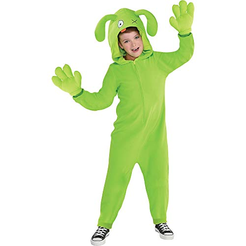 Party City UglyDolls Ox Costume for Children, Size Small, Includes a Zip-Up Jumpsuit, an Attached Hood, and Gloves
