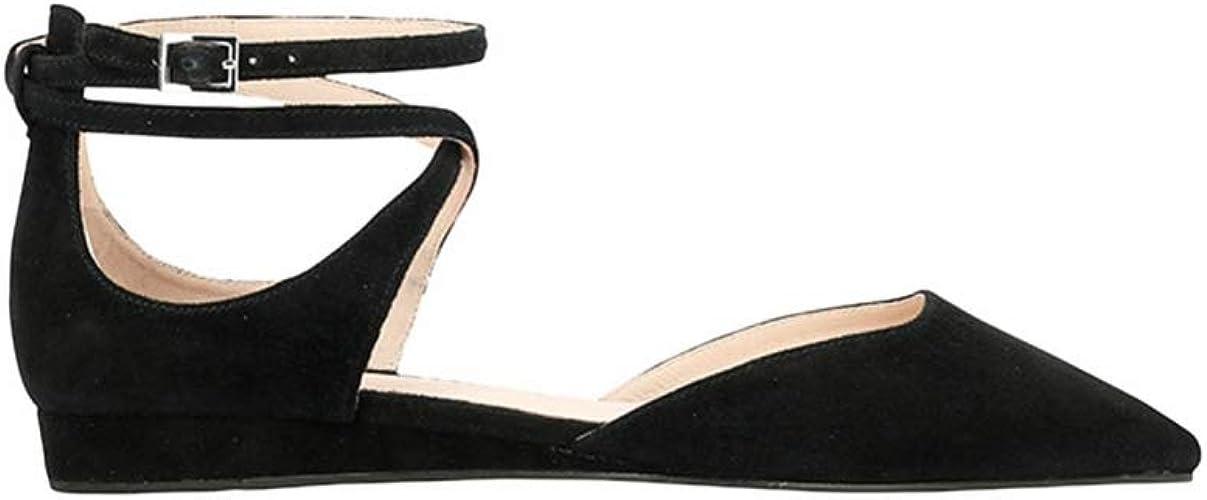 What For , Chaussures de Sport d'extérieur pour Femme Noir Noir 37 EU