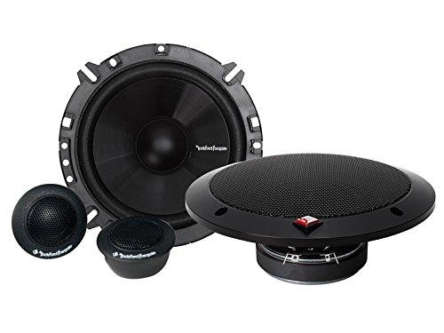 Rockford Fosgate Prime högtalare R165S 160 watt 16,5 cm ljudanläggning inklusive installationssats för Ford Fiesta MK6 Facelift 10/05–02/08
