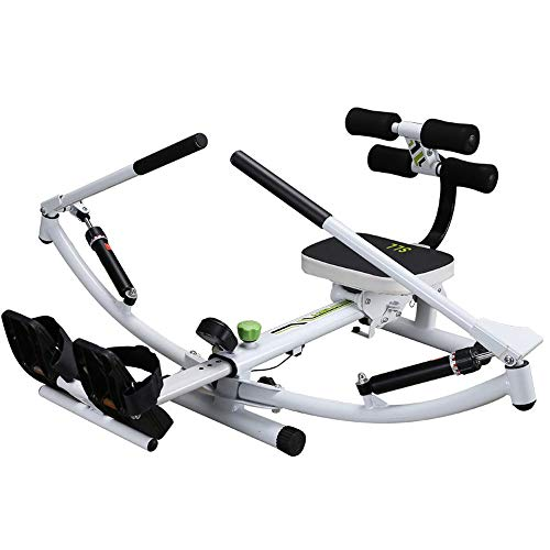 Amazing Deal ZAIHW Multifunctional Rowing Machine Foldable Glider Home Gym Workout Equipment Exercis...