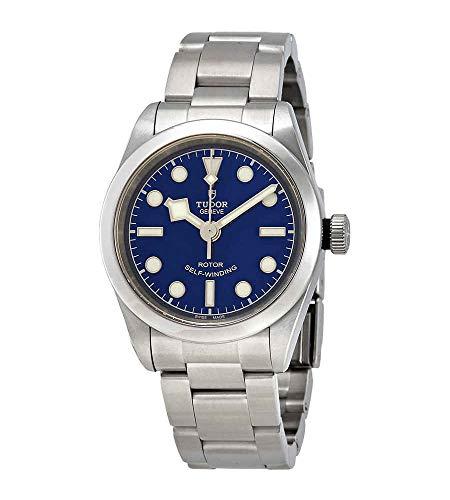Tudor Black Bay automatico orologio da donna quadrante blu 79580-0003