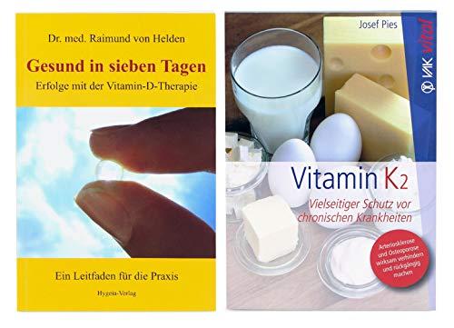 Bücherset aus Gesund in sieben Tagen: Erfolge mit der Vitamin-D-Therapie + Vitamin K2: Vielseitiger Schutz vor chronischen Krankheiten