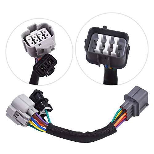 WFLNHB 8Pin Distributor Adapter Obd1 to Obd2 Jumper Harness Dizzy fit for Honda Acura E3