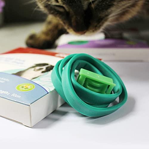 Cipliko Collar Antiparasitos,Collar Antiparasitos para Perro para Eliminación De Pulgas De Piojos para Perro Gato