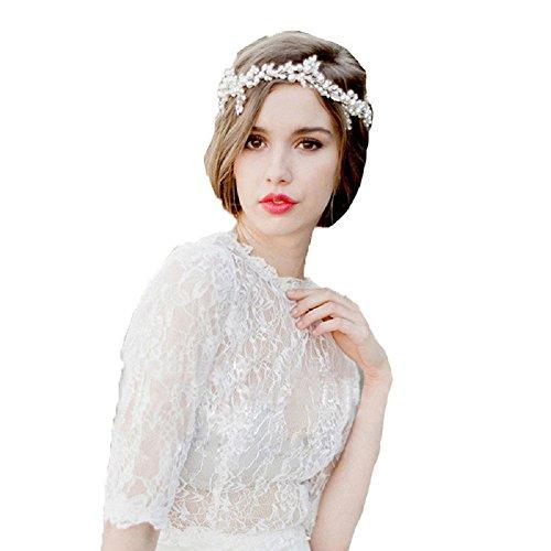 Unbekannt Braut Haarschmuck Perlen Haarband Schmuck Haargesteck Hochzeit Brautschmuck