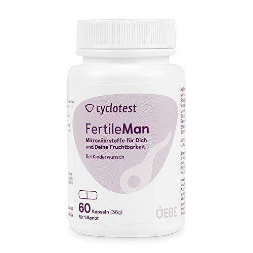 Cyclotest fertile man - Mikronährstoffe zur Unterstützung der Fertilität des Mannes