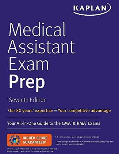 Medical Assistant Exam Prep Your All In One Guide to the CMA RMA Exams Kaplan Medical Assistant product image
