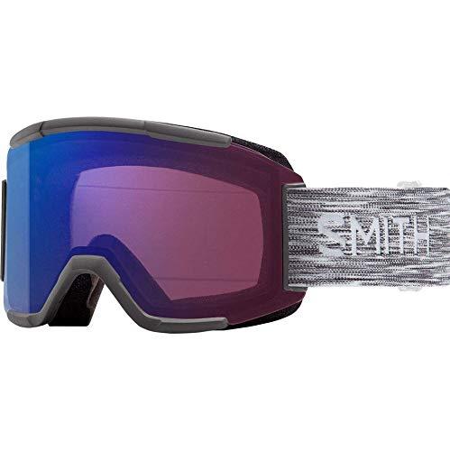Smith (Smizd) SQUAD skibril met chroma pop, Cloudgrey, middelgrote pasvorm