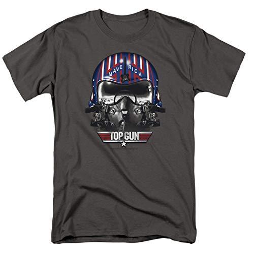 Mens Top Gun Maverick Helmet T Shirt & Stickers, S to 5XL