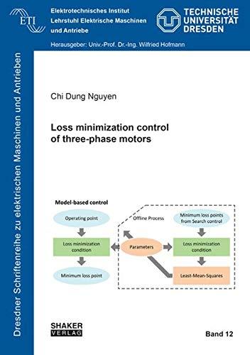 Loss minimization control of three-phase motors (Dresdner Schriftenreihe zu elektrischen Maschinen und Antrieben, Band 12)
