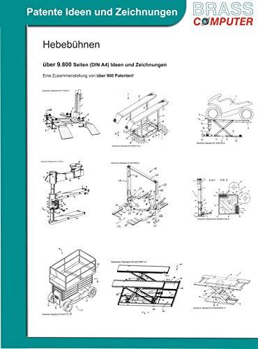 Hebebühnen, ca. 9.800 Seiten (DIN A4) Ideen und Zeichnungen
