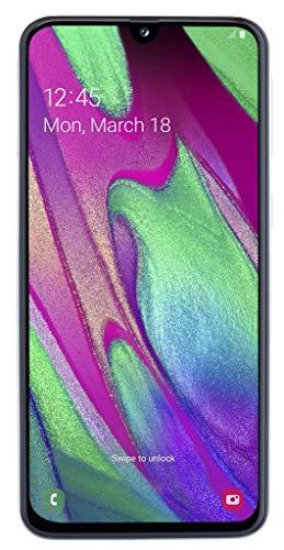 Samsung Galaxy A40 64GB Handy, schwarz, Schwarz, Dual SIM, Android 9.0 (Pie)