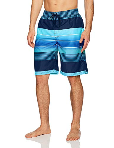 Kanu Surf Men's Swim Trunks (Regular & Extended Sizes), Echelon Navy, Large