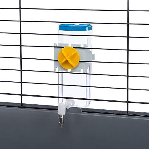 Ferplast 84676070 Nager-Trinkautomat SIPPY 8476 LARGE, Befestigung am Gitter oder an glatten Oberflächen, Inhalt: 600 ml - 3