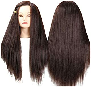 Long Straight Head Model Teaching Of Wig Graceful Fashion Wig Accessory For Women