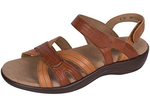 SAS Women's Flat Sandals, Sepia, 7