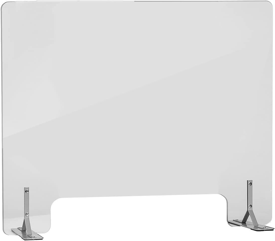 Max 42% OFF J JACKCUBE DESIGN Sneeze Guard Countertop for Cheap bargain Plexiglass Protect