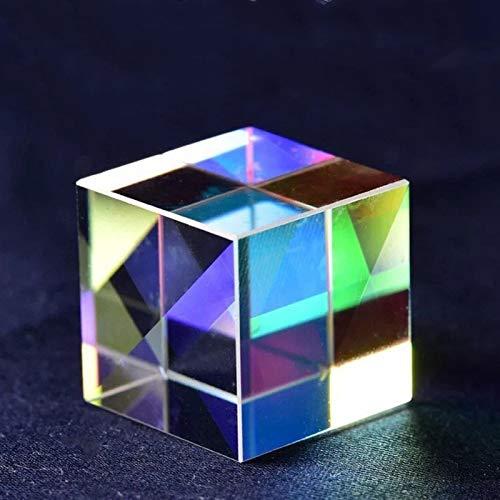ZZLLFF Regalos creativos Cubo Light Cubo Prism Color DE ARRENAMIENTO DE ASEQUIERO Arco Iris FOTOGRAFÍA DE Navidad