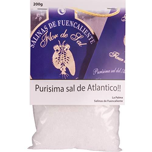 LOUXA Sal Marina Teneguia Flor de Sal | Fleur de Sel Meersalz aus La Palma 100% ökologisch 200 g (64,75 € / kg)