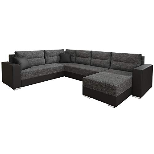 SELSEY TALNINS - Modern Corner Sofa Bed Convertible Couch