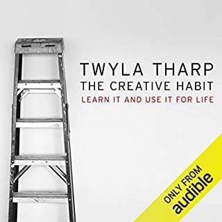 The Creative Habit audiobook cover art