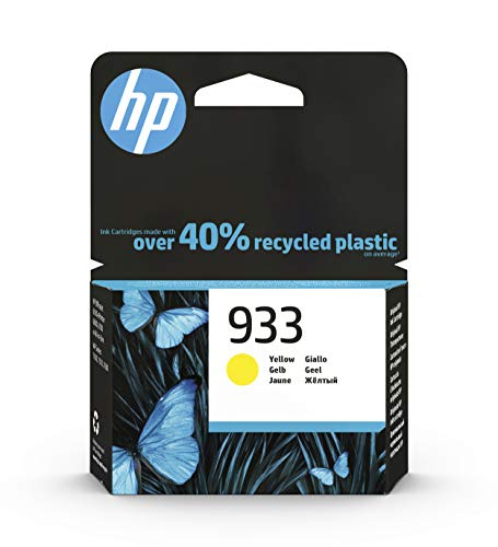 Cartucho de Tinta Original HP 933 Amarillo