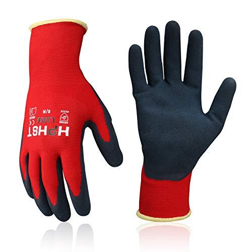 Arbeitshandschuhe - HPHST Handschuhe 3 Paar Montagehandschuhe für Damen und Herren Gloves Ergonomisches Design Gartenhandschuhe Größe 7/S