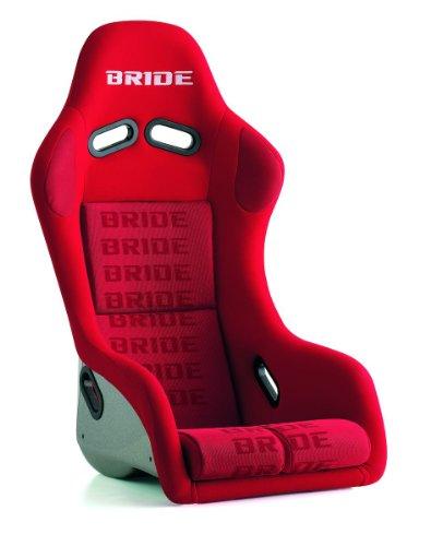 BRIDE (ブリッド) フルバケットシート【 ZETA III Type-S 】(FRP製) レッドロゴ FS1IMF