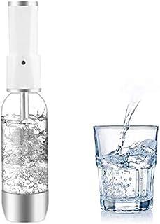 ILH Machine À Soda en Cristal Pétillante pour L'ajout Individuel D'acide Carbonique dans l'eau du Robinet,Silver