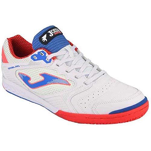 Joma Dribling, Zapatillas de Futsal Hombre, Blanco, 42.5 EU