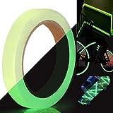 TANCUDER Cinta Luminosa con Luz Verde Cinta Fluorescente Adhesiva de Seguridad...
