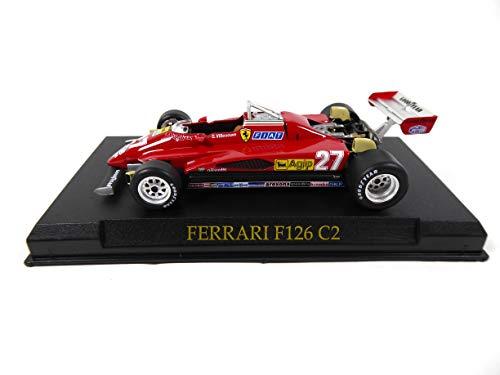 OPO 10 - Ferrari 126 C2 #27 Villeneuve 1/43 (KJ01)