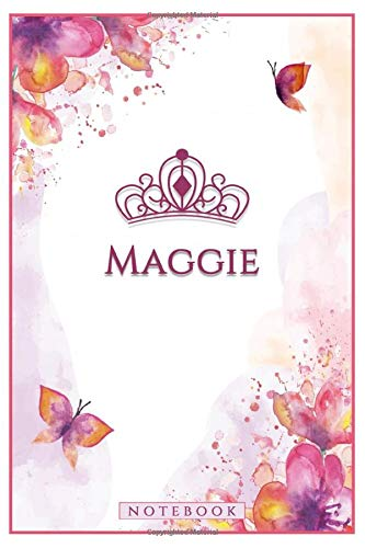 Maggie NOTEBOOK: Personalized Name Journal Writing Notebook For Maggie