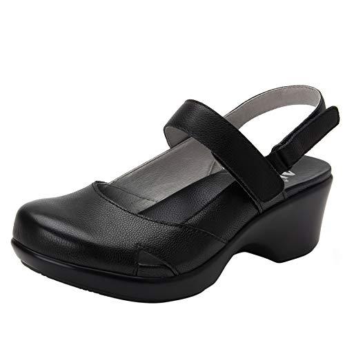 Alegria Tarah Womens Shoe Black Casual 8 M US